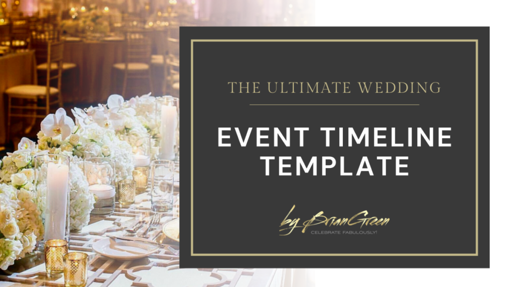 The Ultimate Timeline Template for Event Pros