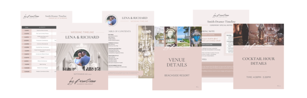 26 Page EventPlanning Timeline Template for Event Pros